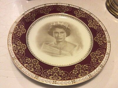 Vintage Old Commemorate Plate Tour Of Australia 1954    Made In England