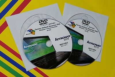 RECOVERY DISCS FOR Lenovo IdeaCentre B520, 5 Series - $9 99
