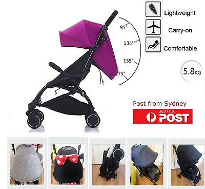 2019 Compact Lightweight Baby Pram Jogger Stroller Carry on Luggage Travel Plane