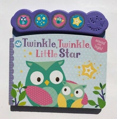Multi-Sound Book, Twinkle Twinkle Little Star Kids Ages 0 Month+ to 4 Year New