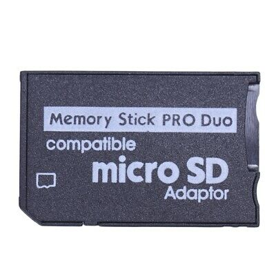 Memory Stick Pro Duo Mini MicroSD TF to MS Adapter SD SDHC Card Reader for A2J5