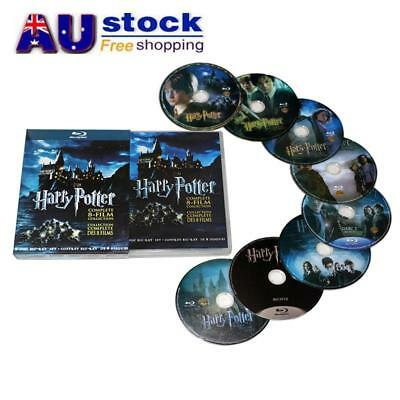 AU For Harry Potter DVD 1-8 Movie Complete Collection Films Box Set New Sealed