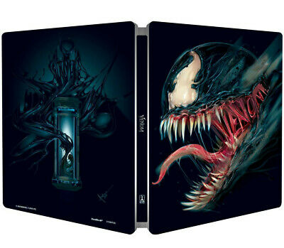 VENOM - EDIZIONE STEELBOOK (BLU-RAY) Tom Hardy, Michelle Williams
