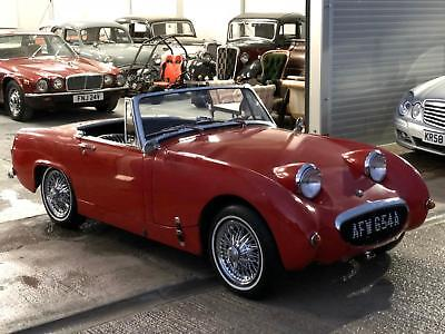 Austin Healey Sprite,frog eye front,lhd,US import.