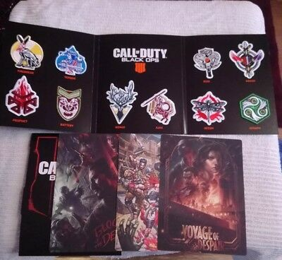 Call Of Duty Black Ops 4 Specialist Patches And Zombie Artwork