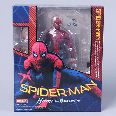 """6"""" Super Hero Spider-Man Homecoming Spiderman PVC Action Figure Toys Kids Gift"""