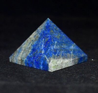 New Lot 10 X Blue Lapis Lazuli Crystal Healing Reiki Aura Egyptian 25MM Pyramids