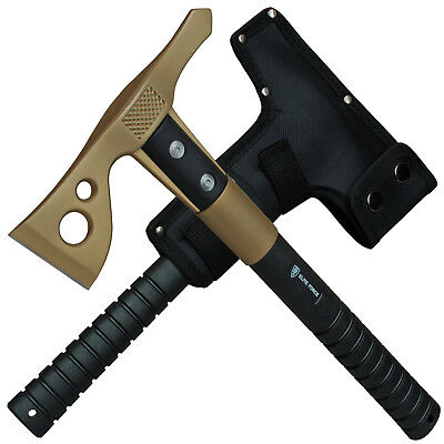 Elite Force EF803 Gold Tactical Tomahawk Beil Axt Nylonscheide m. Gürtelschlaufe