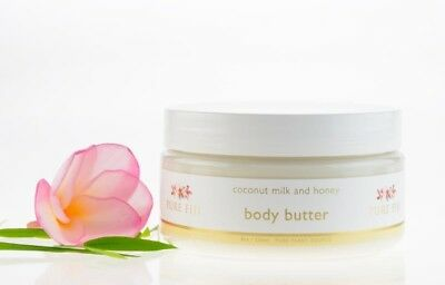 Pure Fiji Coconut Milk and Honey Body Butter 8 oz.