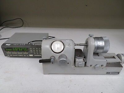 Mitutoyo Bench Comparator Gage w/ Digital Readout MDL 162-102 NC48
