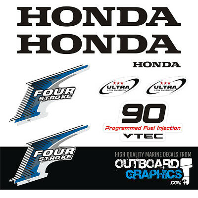 Yamaha 8hp 4 stroke outboard engine decals//sticker kit other outputs available