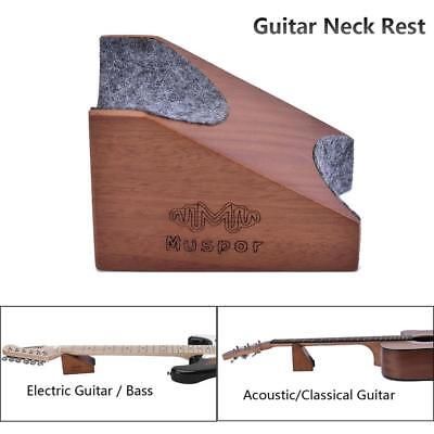 Guitar Neck Rest Support Electric & Acoustic Guitar & Bass Luthier Setup Tool