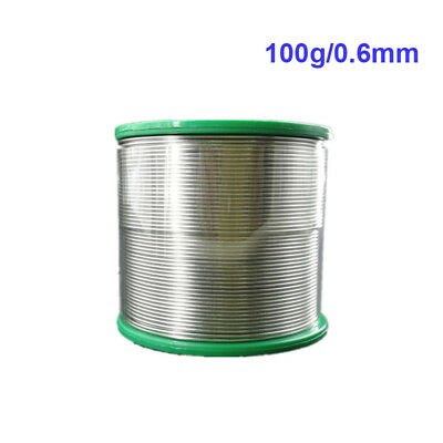 Lead Free Solder Wire Sn99.3 Cu0.7 W/ Rosin Core Great for Electronic 0.8mm 1mm