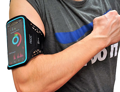 Adjustable Sport Gym Armband Running Jogging Cell Phone Case Cover For Samsung