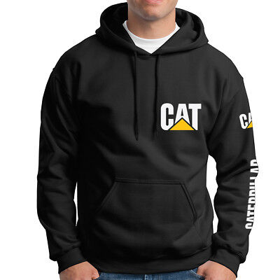 Caterpillar Naughty Tractor Casual Work Adult Hoodie Sweater CAT-HD-0001