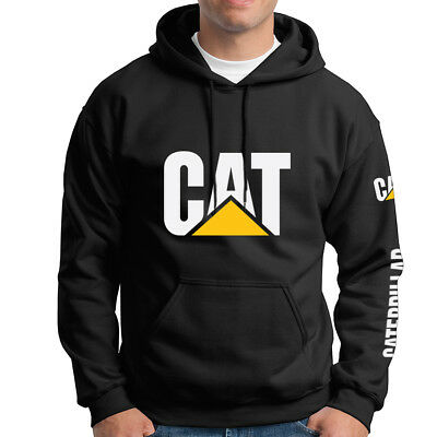 Caterpillar Naughty Tractor Casual Work Adult Hoodie Sweater CAT-HD-0003