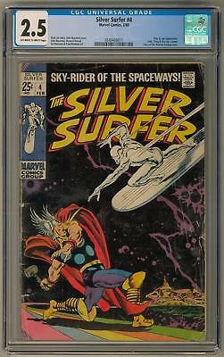 Silver Surfer #4 CGC 2.5 (OW-W) Classic Cover