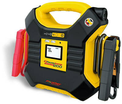 Panther Iq Powerjump 1200 12V 24V Voiture Camion Startbooster Accueil Aide Ampli