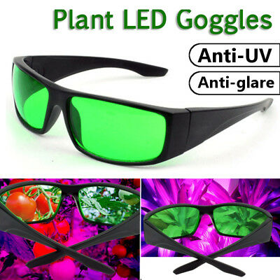 LED Plant Grow Room Tent Glasses Anti UV Protection Eyewear Indoor Hydroponics