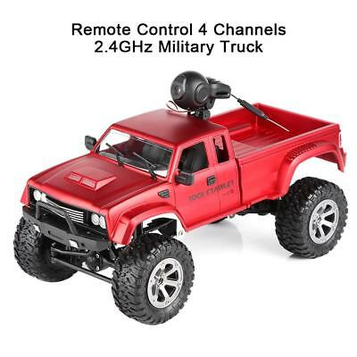 Cool 4WD Remote Control Car Truck Off-Road Vehicle 2.4G Buggy Crawler Car Toys