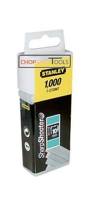 Stanley STA1CT305T Flat Narrow Crown Staples Tacker 8mm 1-CT305T PACK OF 1000