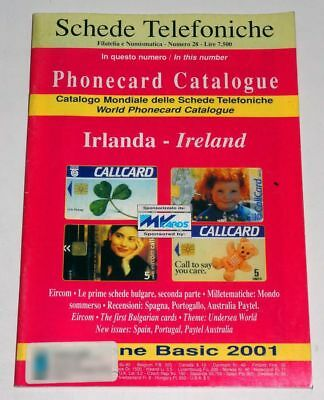 Catalogo Schede Telefoniche Irlanda - Phonecards Catalogue Ireland