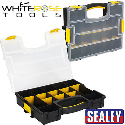 Sealey Stackable Parts Storage Organiser Tray Fixings Toolbox APAS15A
