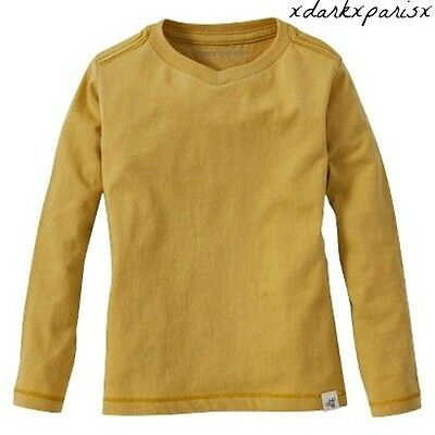 NEW NWT Baby Boys Burt's Bees Organic Long Sleeve V Neck Shirt SZ3/6M,6/9