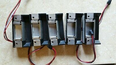Hes 5000c door strikes 5pc tested bairly used .... hes 5000c-12-24d-630