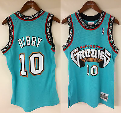 11dceebcab54 Mike Bibby Vancouver Grizzlies Mitchell   Ness Rookie 1998-1999 Authentic  Jersey