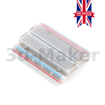 Solderless Prototype Breadboard 400 Point, Arduino Nano, ESP32, STM32 Compatible
