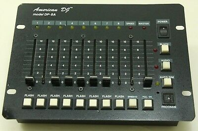 American DJ DP-8A 8 Channel Light Dimmer Controller - Free Shipping