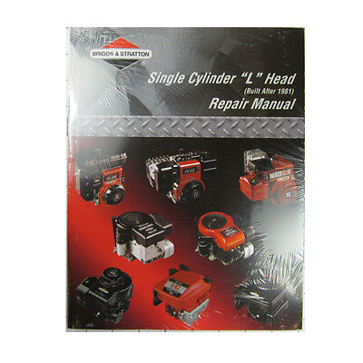Briggs and Stratton 270962 Single Cylinder Repair Manual