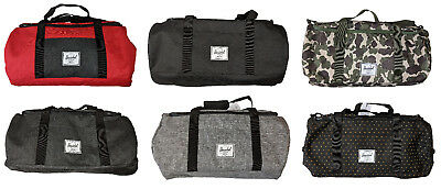 9d24f236b352 HERSCHEL SUPPLY CO. Sutton Mid-Volume Duffel Bag Site Black 10251 ...