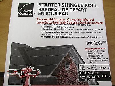 4 rolls. Easy Self Stick, Starter Shingle Rolls. Owens Corning. Asphalt Roofing