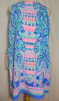 1df724c0569c NEW Lilly Pulitzer Donna Romper Size 0 Feel the Beat Engineered Multi Dress  NWT