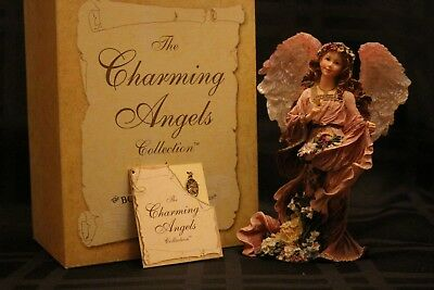 Boyds~Charming Angels~Olivia~Guardian of Flora 28220~1st Edition!