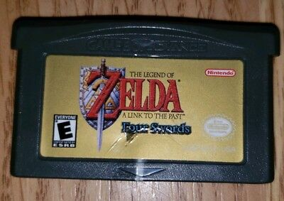 Legend of Zelda: A Link to the Past Four Swords (Nintendo Game Boy Advance) GBA