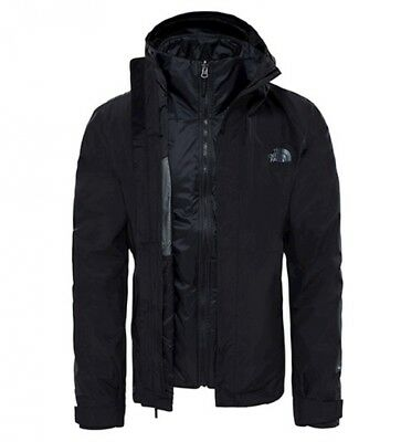 THE NORTH FACE Giacca Naslund nero DryVent Triclimate