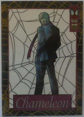 1994 Amazing Spiderman Suspended Animation Trading Cards #3 Chameleon