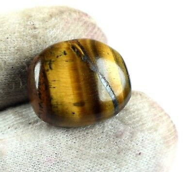 Bumper Sale 12 Ct+ 100% Natural Oval Brazilian Brown Tiger Eye Loose Gemstone