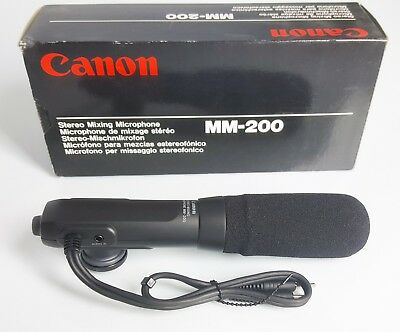 Canon Mm-200 Stereo Mixing Microphone