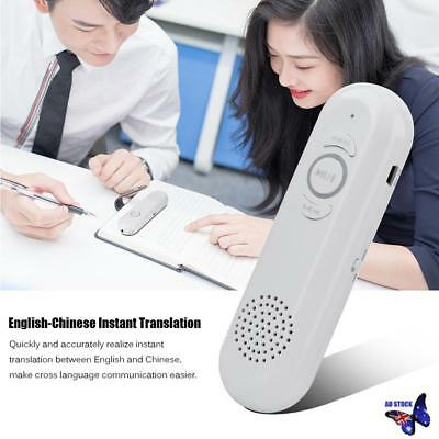 Smart Voice Chinese & English Instant Automatic Translator Machine Real Time New