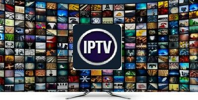 IPTV SUBSCRIPTION 1 Month Live HD TV, Sports, Movies 1-12 MonthsVOD + PPV