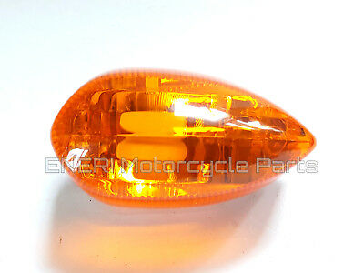 Genuine Yamaha Ybr125 2007>16 Front Right Rear Left Indicator Lens 3D9-H334A-00