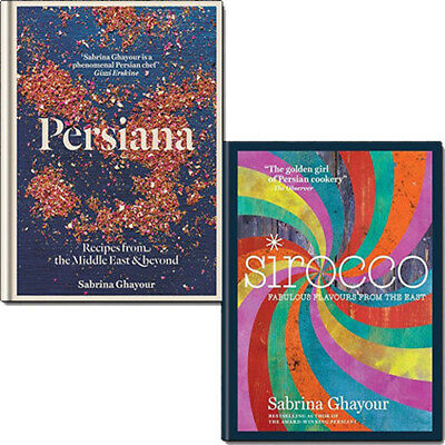 Sirocco and Persiana Recipes Sabrina Ghayour Collection 2 Books Set Pack NEW HB