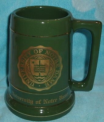 Notre Dame, IN University of Notre Dame Beer Mug Stein Unused Collectible