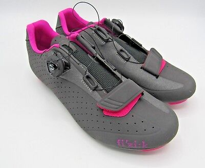 buy popular aec73 66cfc FIZIK R5 DONNA Road Bike Cycling Shoes Pink Grey Sz 10.5 US, 43 EU, 8 UK