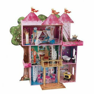 New Kidkraft Majestic Mansion Dollhouse Wood Doll House With