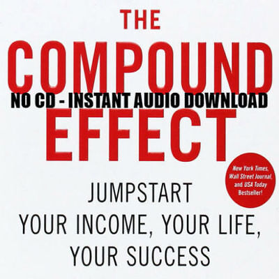 The Compound Effect by Darren Hardy - MP3 Audio format audiobook